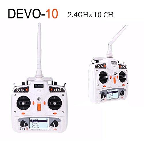 Xiangtat Walkera Devention Devo 10 2.4ghz 10ch Telemetry Rc Transmitter