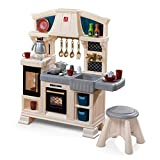 Step2 Classic Chic Play Kitchen   Toddler Kitchen Playset with Accessories & Stool (Amazon Exclusive)