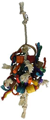 Penn-Plax Cuir Kabob Bird Toys, 10 par 41,9 cm