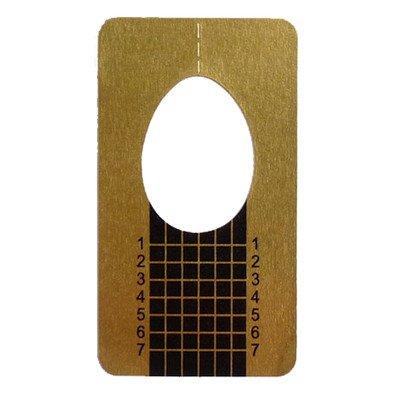 Magic Items de modelage pochoirs 50 Or Gel Acrylique Nail Art