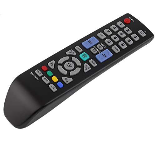 BN59-00857A Mando a Distancia Universal de Repuesto para televisores de televisión en casa para televisores Samsung Adecuado para la mayoría de los Modelos Negro (Color: Negro)