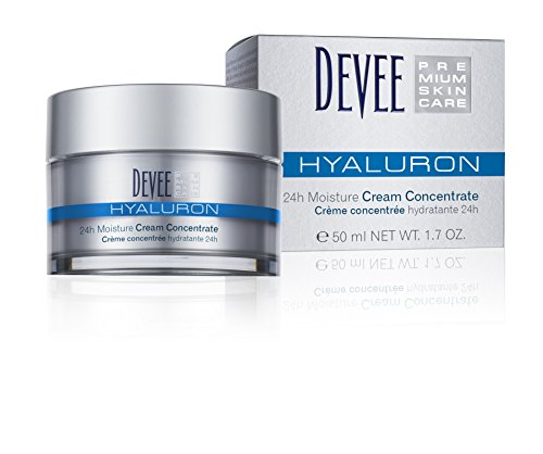 DEVEE HYALURON 24h Moisture Concentrate Creme, 1er Pack (1x50ml)