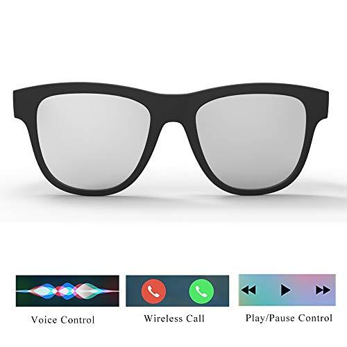 Outdoor-Sonnenbrille, Bluetooth Gläser Bluetooth Kopfhörer Freihändig Fahren Sport Fahrrad Sonnenbrille, Für iPhone Und Android Smartphones Tablet