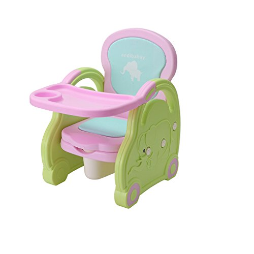 Amazing Deal QARYYQ Multifunctional Children's Dining Chair Small Chair Stool Baby Eating Dining Tab...