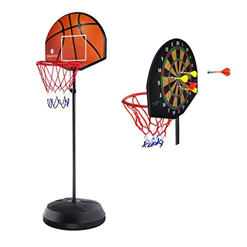 Buy Discount RXY-CHILD Multifunctional Children's Indoor Basketball Darts Target