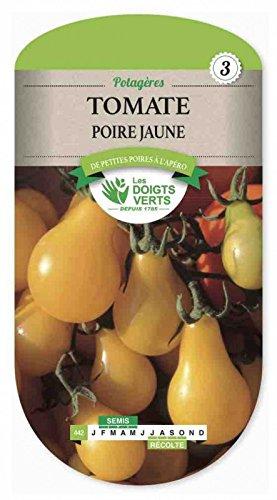 Les doigts verts Semence Tomate Poire Jaune