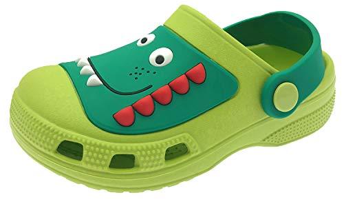 ChayChax Zuecos Unisex Niños Lindo Sandalias de Playa y Piscina Infantil Niña Niño Antideslizante Zapatillas Verano Zapatos de Jardín Agua