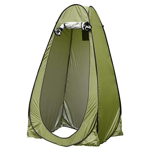 iHeartYard Pop Up Privacy Shower Tent, 6.25 ft Foldable Outdoor Changing Room Tent, Lightweight & Sturdy for Camp Toilet, Rain Shelter and Indoor Photo Shoot, with Carrying Bag