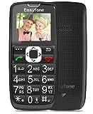 Easyfone Prime-A6 gsm Teléfono Movil para Personas Mayores con Teclas Grandes, Audífonos...