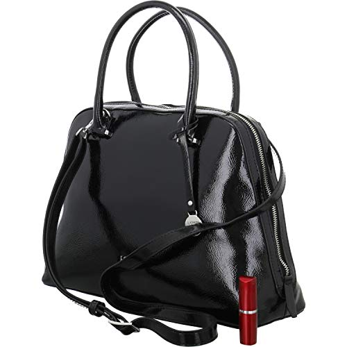 L.CREDI Handtasche DARLYN Größe One size Schwarz (Schwarz)