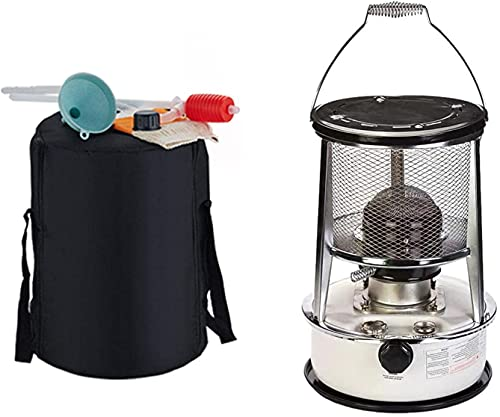 LHMYHHH Stufa a Cherosene, riscaldatore da Campo Portatile all-in-One Riscaldatore a combustibile Portatile Diesel per Esterni, fornello da Pesca da Campeggio con Custodia,6l
