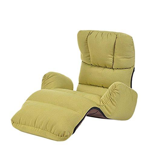 XING ZI LAZY SOFA G-Y Canapé Paresseux, Canapé Simple, Canapé Minimaliste Moderne, Salon Chambre Balcon Baie Vitrée Chaise, Chaise Longue, Canapé Pliant (Couleur : Fruit Green)