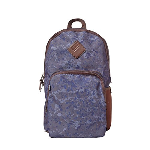 BUILT NY Lunchpack Collection Union Square Backpack with Removable Insulated Lunch Bag, Tweed Camo