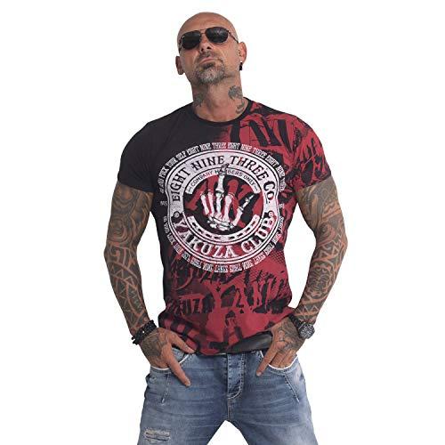 Yakuza Original Yakuza Club T-Shirt , Schwarz - XL