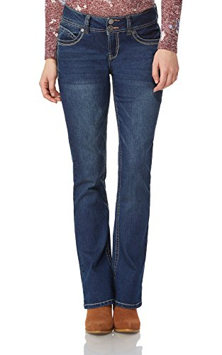 WallFlower Juniors Luscious Curvy Basic Bootcut Jeans in Katy Size:7