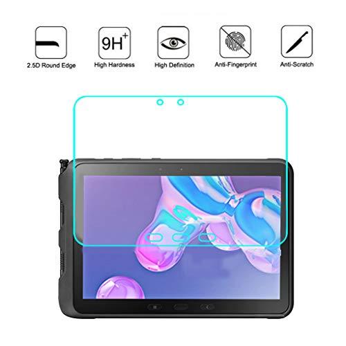 【2 Pcs】Für Samsung Galaxy Tab Active Pro 10.1 T540 T545 Schutzfolie,BJJH Glas Folie Displayschutzfolie Screen Protector 9H Härte [Blasenfreie] Glasfolie Tempered Glass Film (Klar)