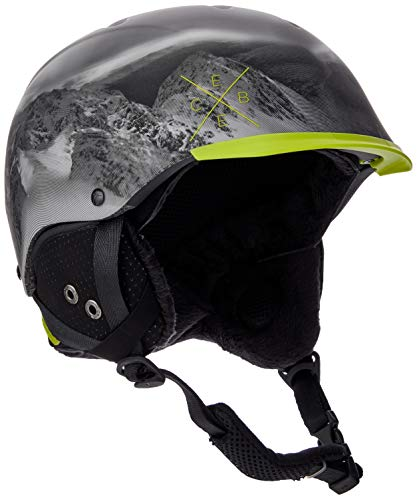 Cébé Contest Visor Pro Skihelm, Lime Mountain, 56-58 cm