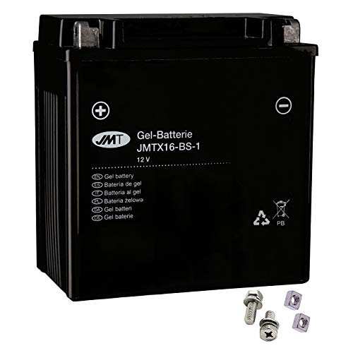 YTX16-BS-1 Gel Batterie für VS 1400 GLP Intruder Baujahr 1987-2003 von JMT