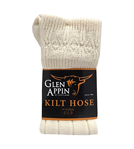 Luxuriöse, schottische Kilt-Schlauch-Socken aus Wolle
