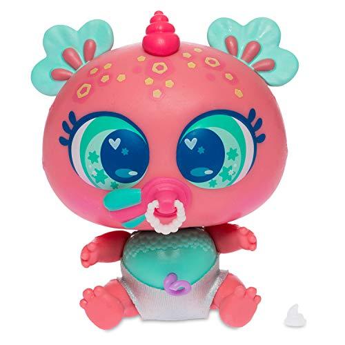 Neonate Distroller Baby Doll Ksimerito Aquatic Water Aquamerito GluGlu AQUITA Rosa Pink by Distroller Limited Edition in Spanish
