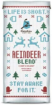 Caribou Coffee Reindeer Blend Ground Coffee 2 10oz Bags product image