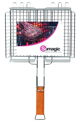 Somagic SO450360 Grille Double Ajustable 32 x 25 cm