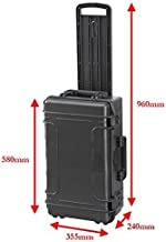 Mobile Large Ltr Waterproof IP67 Rated Hard Protective Camera Case with Foam Perfect for AVCCAM Camcorders