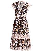 Ulla Johnson Women's Celestia Dress, Midnight, Blue, 10