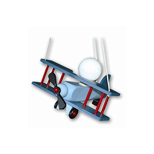 Suspension Chambre Enfant Avion Aeronef Bleu