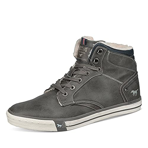 MUSTANG Zapatillas para hombre 4072-602, Gris oscuro 20, 47 EU