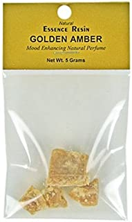 Golden Amber Essence Resin - 5 Gram Pack - Sold as a set of 3 Packs