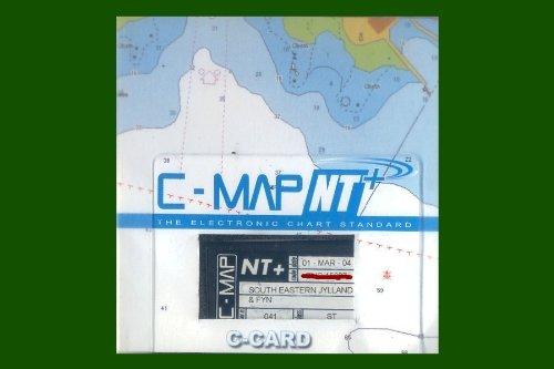 C-MAP NT + / C-CARD 'SÜD OST JÜTLAND & FÜNEN' ELEKTRONISCHE SEEKARTE / MODUL (CD-ROM)