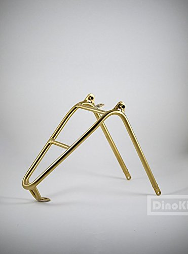 Dino Kiddo Gold titanium rear triangle size rear rack for Brompton Folding Bike
