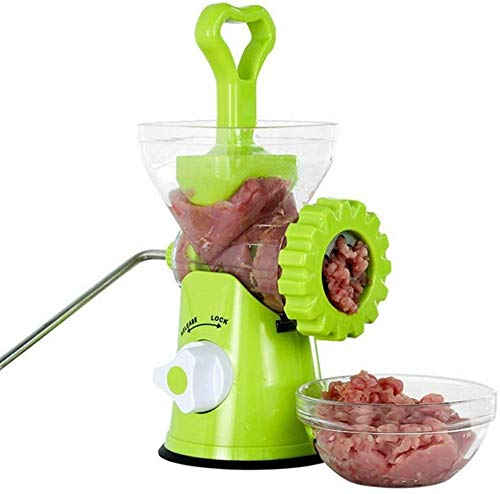 Hachoir à Viande Manuel Enema Machine Hachoir Domestique Petite Viande Hachée Agitateur à Viande Manuel Saucisse Pot