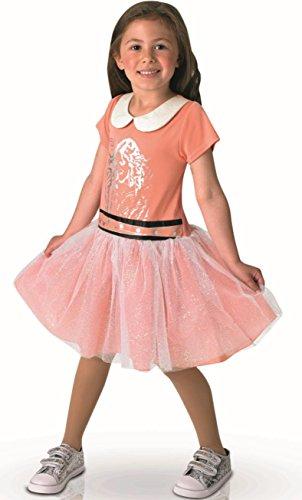 Disney - I-610368l - Déguisement Classique Pour Enfant - Violetta - Taille L - Corail