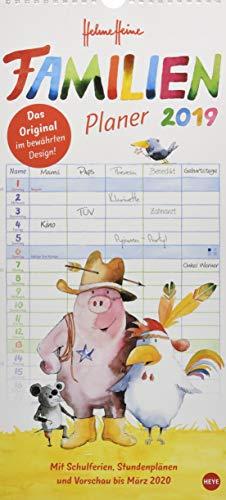 Preisvergleich Produktbild Helme Heine Familienplaner - Kalender 2019