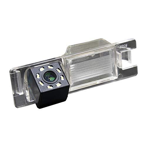 Telecamera posteriore retromarcia di Backup Telecamera di retromarcia per targa fotocamera impermeabile per Fiat Doblo Opel Vectra C/Astra H/Corse D/Zafira B/Tigra Meriva A/Insignia Tourer