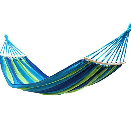 RSdfjLfjd Ophangmat voor eenpersoons- en tweepersoons/meisjes 190x80cm(75x31inch) blauw