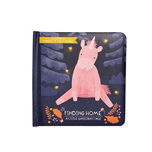 Manhattan Toy Finding Home-Livre de Contes pour Toute Petite Licorne, à partir de 6 Mois, 216950, Multicolore