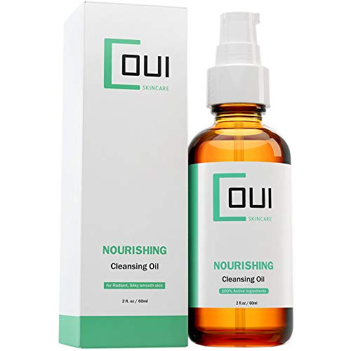 NOURISHING Face Cleansing Oil Anti Aging Daily Facial Cleanser - Alpha Lipoic Acid, Vitamin A For Dry Skin