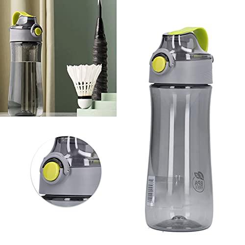 CUTULAMO Botella de Agua translúcida de 440 ml, Suministros Deportivos Botella de Agua Deportiva para Gimnasio, Yoga, Fitness, Acampar