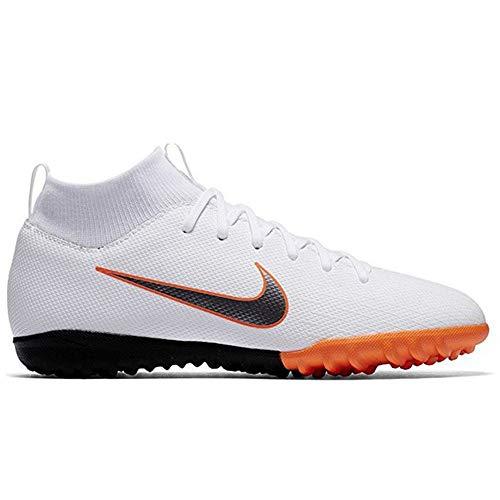 Nike Mercurial Superfly X 6 Academy TF JR AH7, Unisex Fußballschuhe, Mehrfarbig (Indigo 001), 38 EU (5 UK)