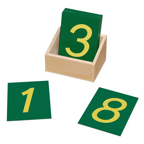 Elite Montessori Toddler Sandpaper Numbers