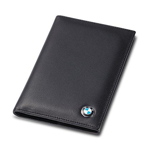 BMW Bifold Standard Passport Cover - Genuine Leather