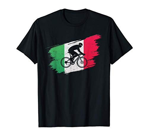 Ciclismo Ciclista Italia Bicicletta Vintage Regalo Maglietta