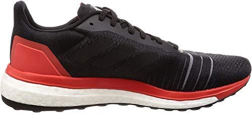 adidas Solar Drive M, Zapatillas de Deporte Hombre, Negro (Negbás/Negbás/Roalre 0), 46 EU