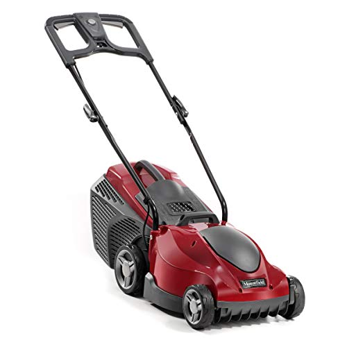 Mountfield 294340063/M13 Princess 34 Electric 4 Wheel Rear Roller Lawnmower, 1400 W