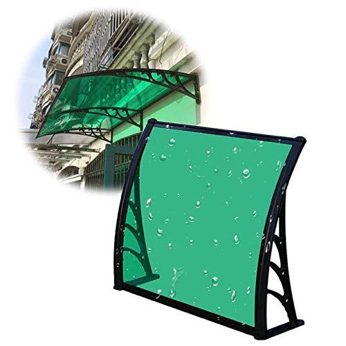 Tejadillo De Protección Marquesina, Refugio De Toldo Al Aire Libre Toldo for Puerta De Patio Robusto Y Duradero Soporte De Aluminio for Porche Trasero Delantero Y Sombra Al Aire Libre