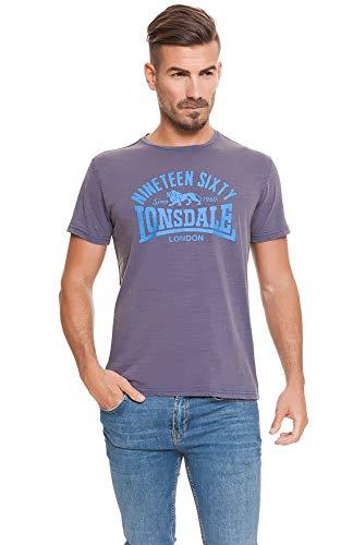 Lonsdale London Nineteen Sixty T-shirt blauw Avio maat S, M, L, XL, XXL.