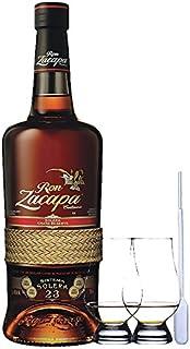Zacapa Rum Solera Sistema 23 Centenario 0,7 Liter  2 Glencairn Gläser  Einwegpipette 1 Stück